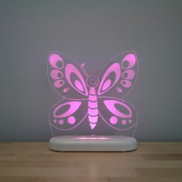 Aloka Butterfly LED Sleepy Light USB Night Light