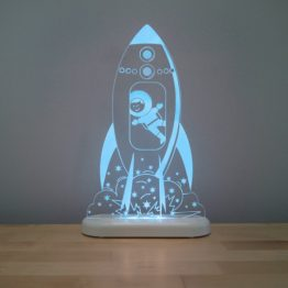 Aloka Rocket LED Sleepy Light USB Night Light