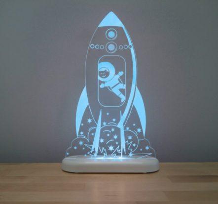 Aloka Rocket LED Sleepy Light USB Night Light