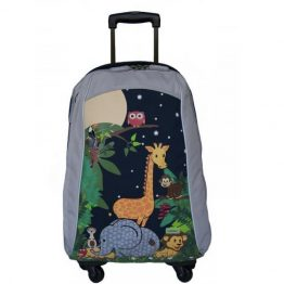 Bobble Art Jungle Cabin Luggage