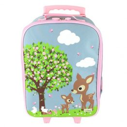 Bobble Art Trolley Bag Woodland