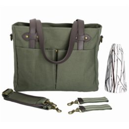 SoYoung Emerson Nappy Tote Bag - Khaki