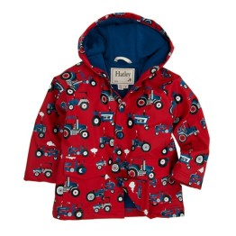 Hatley Boys Raincoat Farm Tractors