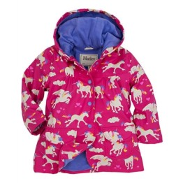 Hatley Girls Raincoat Unicorns & Rainbows