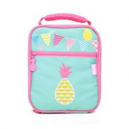 Penny Scallan Pineapple Bunting Bento Box Lunch Cooler Bag