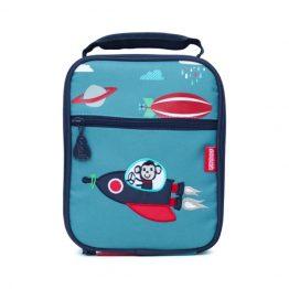 Penny Scallan Space Monkey Bento Box Lunch Cooler Bag