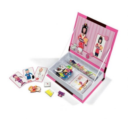 Janod Magnetic Girl Book