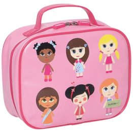 Bobble Art Paper Doll Lunch Box