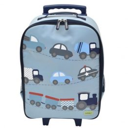 Bobble Art Cars Wheely Trolley Bag