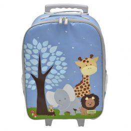 Bobble Art Safari Wheely Trolley Bag