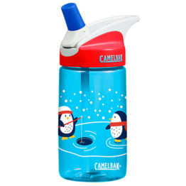 Camelbak Eddy Kids Drink Bottle Ice Fishing Penguins