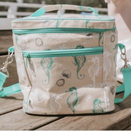 Apple & Mint Seahorse Cooler Bag