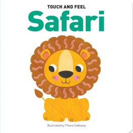 Touch and Feel Board Book Safari