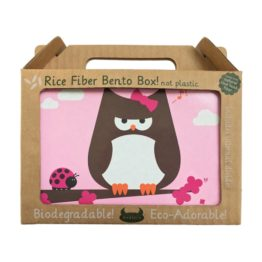 Beatrix New York Rice Fibre Bento Box Papar Owl