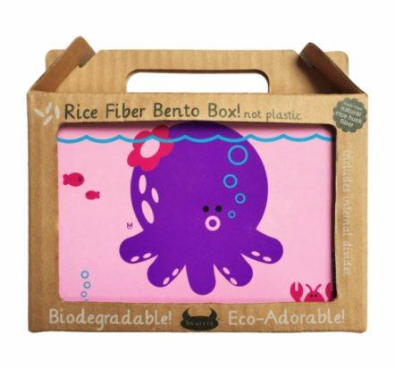 Beatrix New York Rice Fibre Bento Box Penelope Octopus