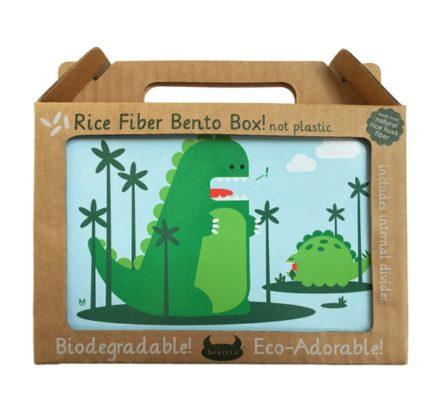 Beatrix New York Rice Fibre Bento Box Percival Dinosaur