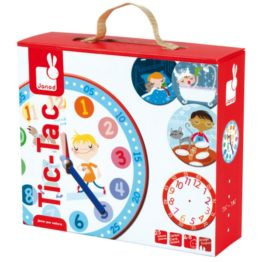 Janod Tic Tac Time Game