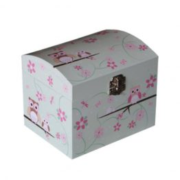 Bobble Art Owl Jewellery Box