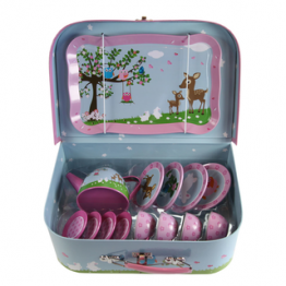 Bobble Art Woodland Tea Set