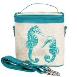 SoYoung Aqua Seahorses Large Cooler Bag