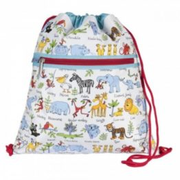 Tyrrell Katz Jungle Drawstring Kit Bag