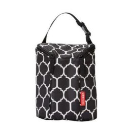 Skip Hop Double Bottle Bag Onyx Tile