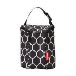 Skip Hop Double Bottle Bag Onyx Tile
