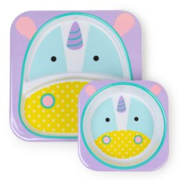 Skip Hop Unicorn Melamine Set