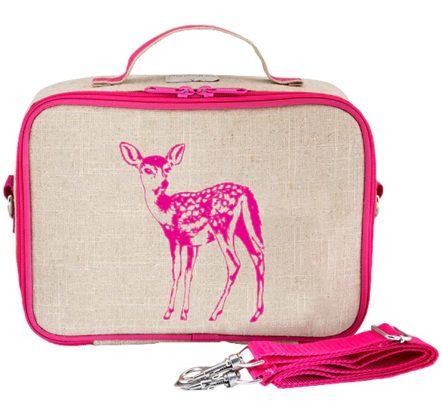 SoYoung Pink Fawn Lunch Box