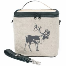 SoYoung Grey Moose Large Cooler Bag