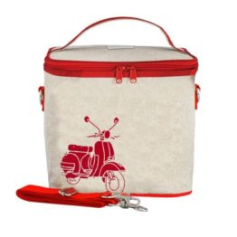 SoYoung Red Scooter Large Cooler Bag