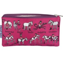 Tyrrell Katz Horse Riding Pencil Case