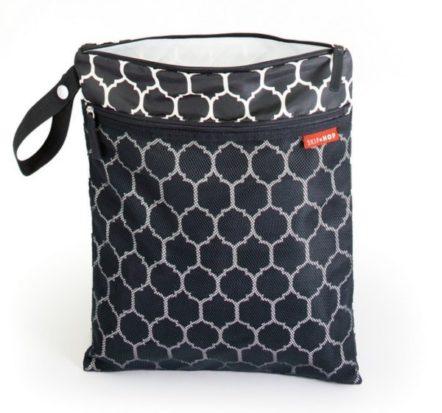 Skip Hop Grab & Go Wet/Dry Bag - Onyx Tile