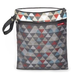 Skip Hop Grab & Go Wet/Dry Bag - Triangles