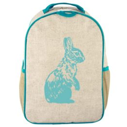 SoYoung Aqua Bunny Toddler Backpack