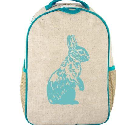 SoYoung Aqua Bunny Toddler Backpack