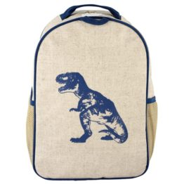SoYoung Blue Dino Toddler Backpack
