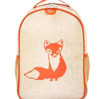 SoYoung Orange Fox Toddler Backpack