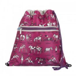 Tyrrell Katz Horse Drawstring Bag