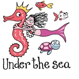 Under the Sea Mermaid