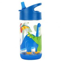 Stephen Joseph Flip Top Drink Bottle Dinosaur