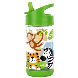 Stephen Joseph Flip Top Drink Bottle Zoo