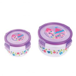 Stephen Joseph Nested Snack Containers Princess
