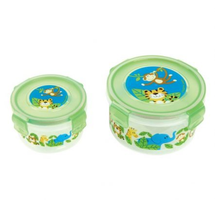 Stephen Joseph Nested Snack Containers Zoo