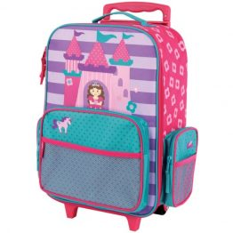 Stephen Joseph Princess Rolling Luggage