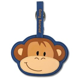 Stephen Joseph Monkey Bag Tag