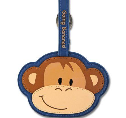 Stephen Joseph Monkey Bag Tag