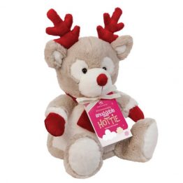 Aroma Home Reindeer Snuggable Hottie