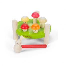Le Toy Van Petilou Hammer Game Mr Mushrooms