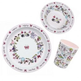 Tyrrell Katz Melamine Set Secret Garden